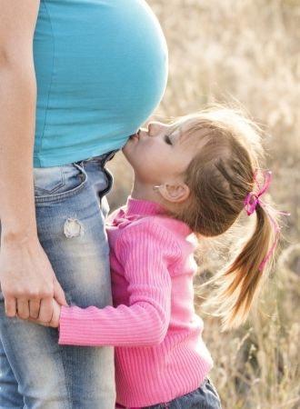 Reaktion på at blive storesøster kan være voldsom