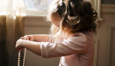 Barnet siger: vil selv kan selv
